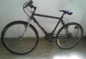 La bici trovta dalla Polizia Municipale. L'eventuale proprietario puo' rivolgersi direttamente al Comando.
