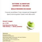 #Catania. Si parla di disturbi alimentari a Villa Fazio