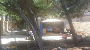 Centro migranti Lampedusa 3-6-2015 c