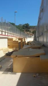 Centro migranti Lampedusa 3-6-2015 d