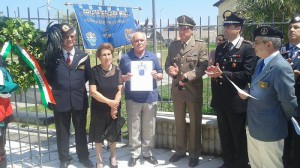 Commemorazione La Rosa a Milazzo 7-6-2015 a