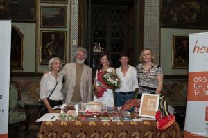 Con i volontari Lila e il presidente Luciano Nigro