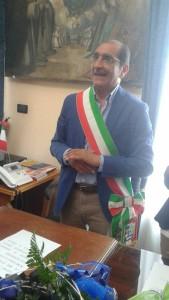 Il sindaco Roberto Materia