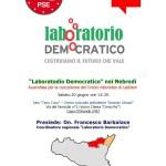 #Messina. A Capo d'Orlando l'ufficializzazione del Comitato LabDem Nebrodi