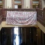 #Messina. Gli sfrattati occupano Palazzo Zanca, l'Unione Inquilini attacca la Giunta