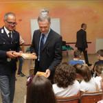 #Agrigento. Il Questore ha consegnato diari agli alunni delle scuole elementari