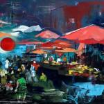 All'Expo 2015 di Milano anche il pittore siciliano Dimitri Salonia