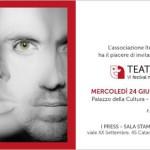 #Catania. Al via Teatri riflessi, il Festival nazionale di corti teatrali