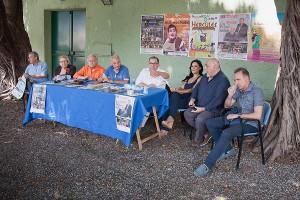 Un momento della conferenza stampa Ascetur 30-6-2015