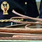#Catania. Rubano cavi di rame, arrestati due venticinquenni