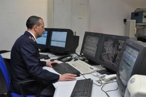 sala operativa Polizia