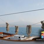#Catania. Ripartita alla volta di Livorno la nave scuola Palinuro