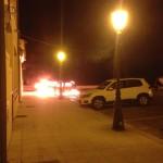 #Messina. Barcellona, distrutta dalle fiamme un'auto a Calderà