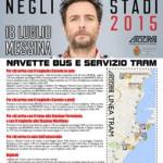 #Messina. Concerto Jovanotti: stop a bagarini e alla vendita di alcolici
