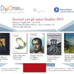 #Palermo. Incontro con i finalisti del Premio Campiello