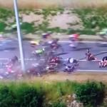 #TourdeFrance. A Rodriguez la terza tappa. Nibali chiude a 11″ e Froome in gialla