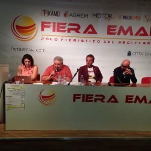 conferenza stampa fiera Emaia Vittoria