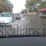 #Messina. Un acquazzone estivo e Ganzirri finisce sott'acqua