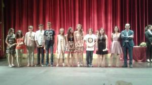 I premiati della Scuola Media Capuana