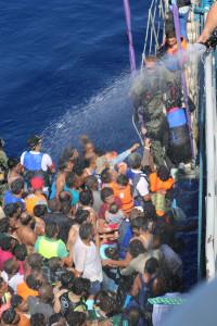 Immagini del salvataggio della Guardia Costiera svedese www.kustbevakningen.se
