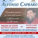 #Agrigento. Una partita di calcio in memoria di Alfonso Capraro