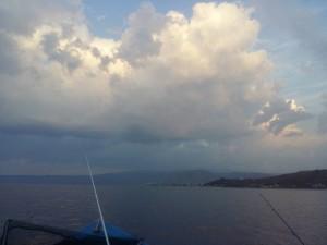 Meteo nuvole mare