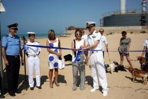 Porto Empedocle  Inaugurazione spiaggia per cani 30-7-2015 a