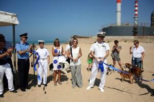Porto Empedocle  Inaugurazione spiaggia per cani 30-7-2015 b