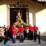 #Barcellona. La processione  di San Rocco rinviata a domani
