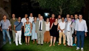 Foto di gruppo, a conclusione della consegna dei Premi