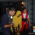 #Migranti. La Marina soccorre una donna all'ottavo mese di gravidanza