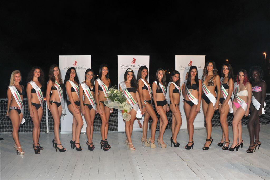 Le finaliste siciliane Venere d'Italia ph Claudia Muliedda