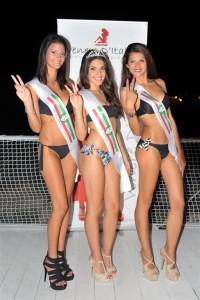 Le vincitrici siciliane di Venere d'Italia Miss Trapani Denise Leto, Miss Sicilia Ylenia Lo Meo, Miss Palermo Ornella Gullo ph Claudia Muliedda
