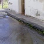 #Barcellona. Perdite d'acqua a Calderà in via Santo Rocco