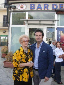 Emanuela Alaimo e il figlio Lorenzo Catalano
