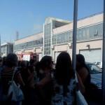 #Messina. Incendio alla scuola Trimarchi, evacuato l'istituto