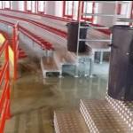 #Barcellona. Allagata per la pioggia la tribunetta del PalAlberti