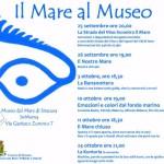 #Siracusa. Seconda edizione de Il Mare al Museo
