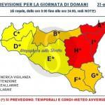 #Barcellona. Allerta meteo, domani scuole chiuse in città, a Milazzo e a Falcone