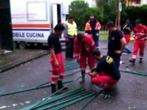 Alluvione Barcellona, Protezione Civile 11-10-2015 b