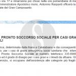 #Messina. Un numero sbagliato e un Pronto Soccorso Sociale che non esiste