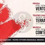 """#Teatro. Il """"Vento da Sud-Est"""" di Campolo pronto a soffiare dalla Sala Laudamo"""