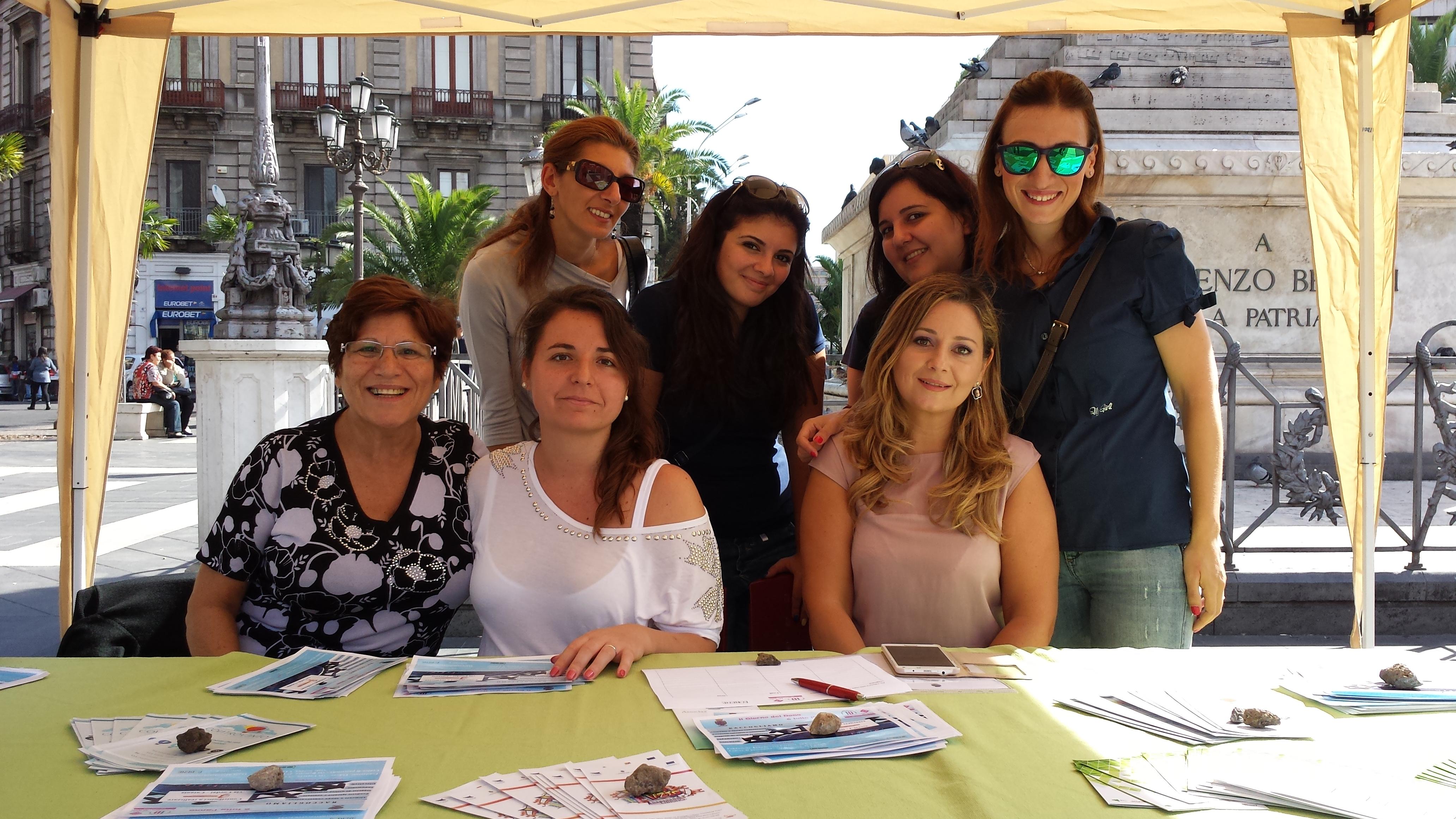 #Catania. Grande successo a piazza Stesicoro per il Giorno del Dono