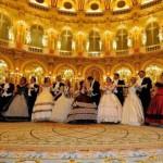 La compagnia danza storica Harmonia suave a Parigi per il Gran Ballo Imperiale