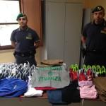 #Caltanissetta. Sequestri di false griffe e CD pirata tra le bancarelle
