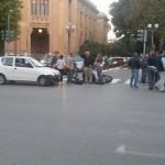 #Messina. Incidente a piazza Antonello tra un'auto e uno scooter