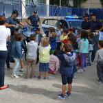 #Ragusa. Gli alunni della scuola dell'infanzia in visita alla Questura