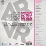 #Catania. Realtà virtuale e realtà aumentata, convegno al Palazzo delle Scienze