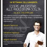 #Catania. Prosegue l'ottava edizione della settimana dell'università
