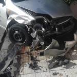 #Barcellona. Grave incidente in via Milite Ignoto tra due auto